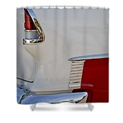 1955 Chevrolet 210 Taillight Shower Curtain