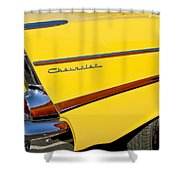 1957 Chevrolet Taillight Shower Curtain