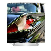 1958 Mercury Park Lane Tail Light Shower Curtain