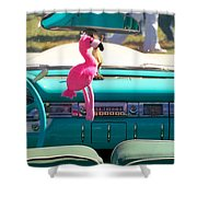 1959 Edsel Ford Shower Curtain