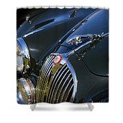 1961 Jaguar Mk II 3.8 Litre Automatic Shower Curtain
