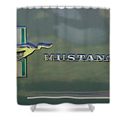 1966 Mustang Shower Curtain