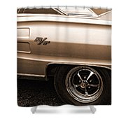 1967 Dodge Coronet Rt Shower Curtain