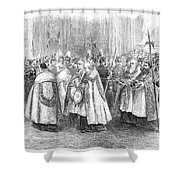 1st Vatican Council, 1869 Shower Curtain