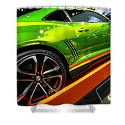 2012 Chevy Camaro Hot Wheels Concept Shower Curtain