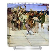 A Dedication To Bacchus Shower Curtain