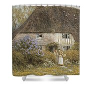 A Kentish Cottage Shower Curtain