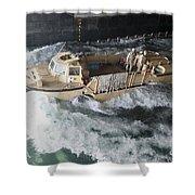 A Lighter Amphibious Re-supply Cargo Shower Curtain