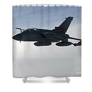 A Luftwaffe Tornado Ids Over Northern Shower Curtain