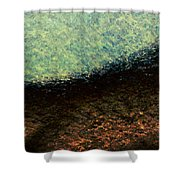 A Place To Ponder - Macro1 Shower Curtain