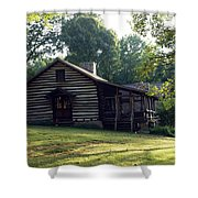 A Quiet Place On The Hill Shower Curtain