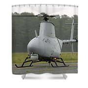 A Rq-8a Fire Scout Unmanned Aerial Shower Curtain