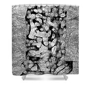 Abs 0426 Shower Curtain