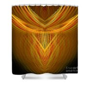 Abstract 104 Shower Curtain