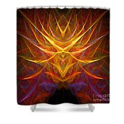 Abstract 109 Shower Curtain