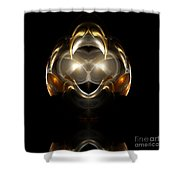 Abstract 111 Shower Curtain