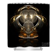 Abstract 112 Shower Curtain