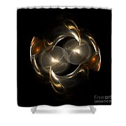 Abstract 113 Shower Curtain