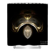 Abstract 116 Shower Curtain