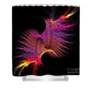 Abstract 148 Shower Curtain