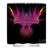 Abstract 149 Shower Curtain