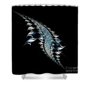 Abstract 155 Shower Curtain
