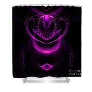 Abstract 165 Shower Curtain