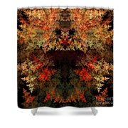 Abstract 177 Shower Curtain