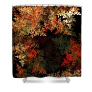 Abstract 179 Shower Curtain