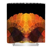 Abstract 204 Shower Curtain