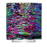 Abstract 240 Shower Curtain