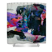 Abstract 4 Shower Curtain
