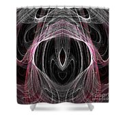 Abstract Eighty-five Shower Curtain