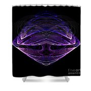 Abstract Eighty-one Shower Curtain