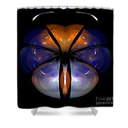 Abstract Eighty-six Shower Curtain