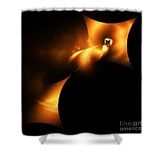 Abstract Fifty Shower Curtain