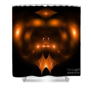 Abstract Fifty-two Shower Curtain