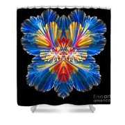 Abstract Forty-nine Shower Curtain