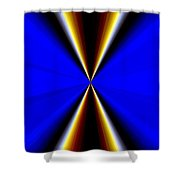 Abstract Fusion 60 Shower Curtain