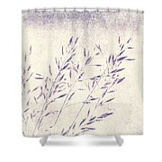 Abstract Gras Shower Curtain