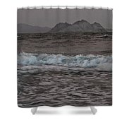 Abstract Kino Bay Shower Curtain