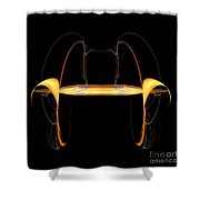Abstract Nine Shower Curtain