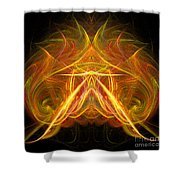 Abstract Ninety-eight Shower Curtain