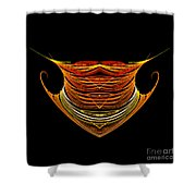 Abstract Ninety-two Shower Curtain