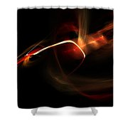 Abstract One Shower Curtain