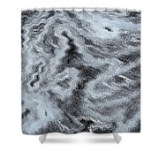 Abstract Pastel Art Shower Curtain