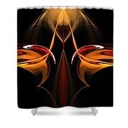 Abstract Seven Shower Curtain