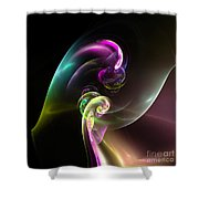 Abstract Seventy Shower Curtain