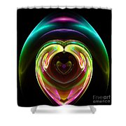 Abstract Seventy-one Shower Curtain