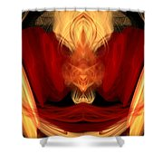 Abstract Six Shower Curtain